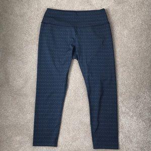 Splits59 cropped printed leggings
